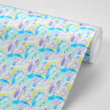 Cotton Candy  - Light Blue Wallpaper - The Blush Label