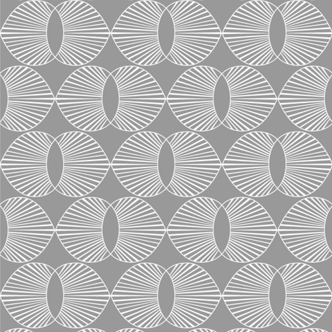 LUCKY Paume - Charcoal Wallpaper - JULIANNE TAYLOR STYLE