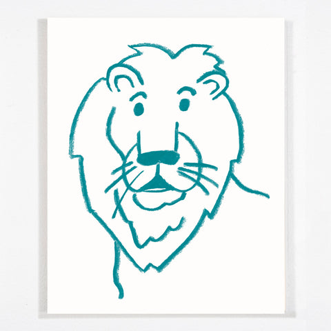 Lion - Stretched Canvas