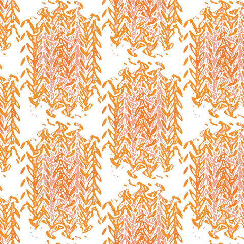 LUCKY Marrakech  - Coral Wallpaper - The Blush Label