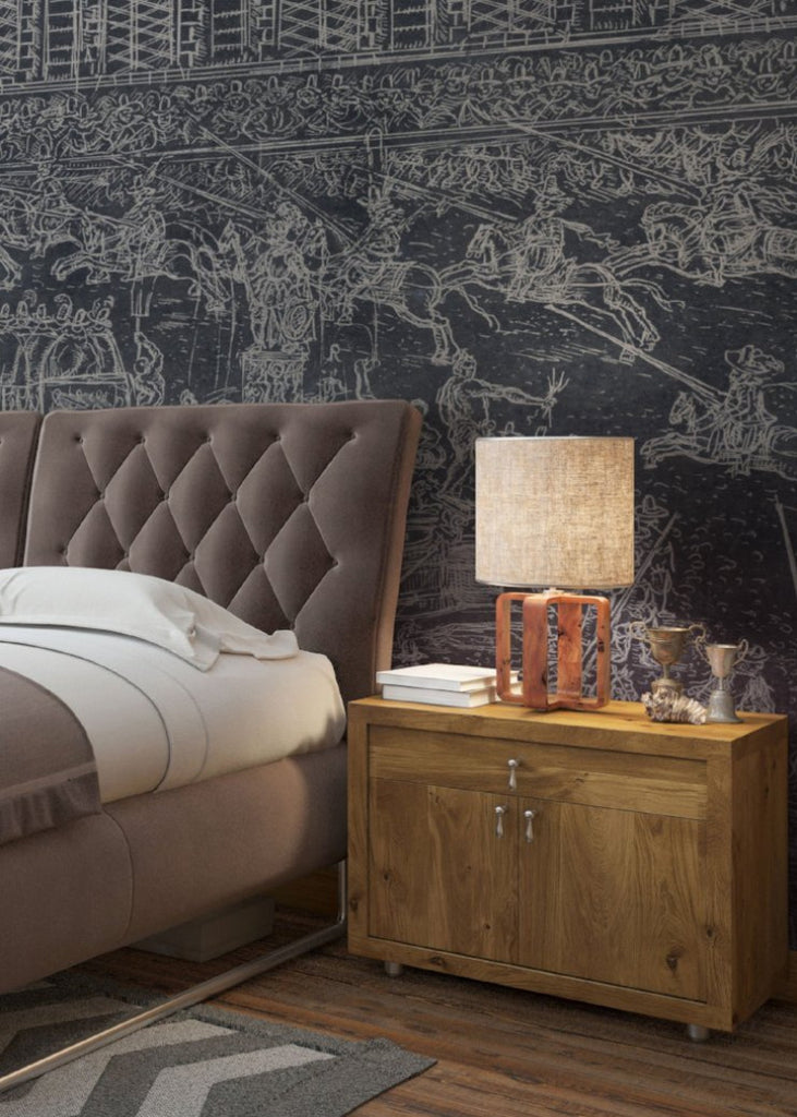 Defended Wallpaper - Mitchell Black Murals
