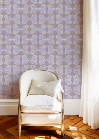 Paume - Lilac Wallpaper - JULIANNE TAYLOR STYLE