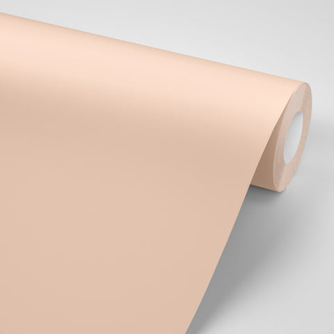 Peach colored Paint replacement self adhesive colored paper made in USA by Mitchell Black Wallpaper in Chicago
