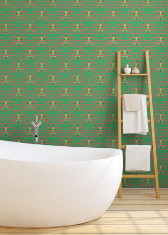 Pineapple Pop - Summer Sorbet Wallpaper - JULIANNE TAYLOR STYLE