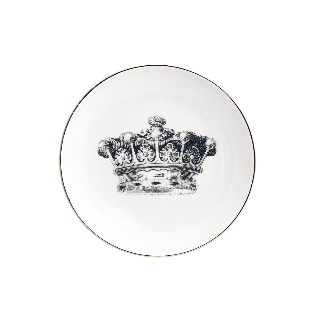 """CROWN"" Set of 4 PLATES"