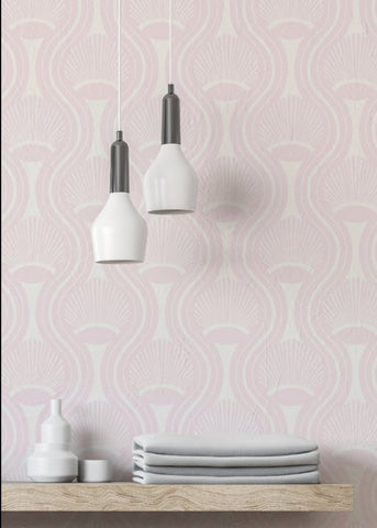 Riviere - Blush Wallpaper - JULIANNE TAYLOR STYLE