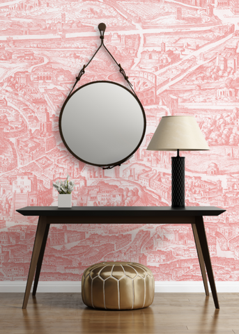 When In Rome  Wallpaper - Mitchell Black Murals