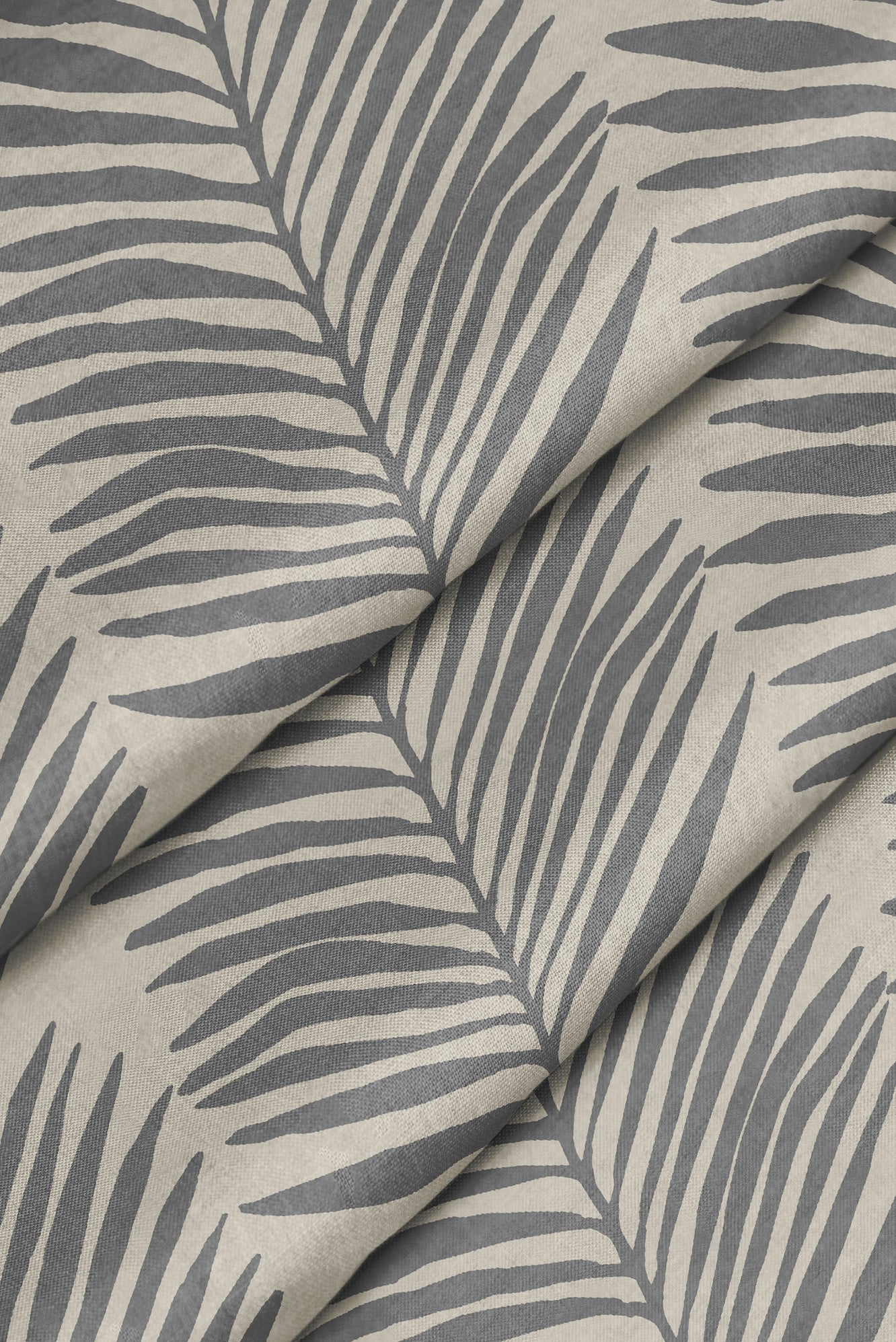 Betty Palms Fabric - Cashmere