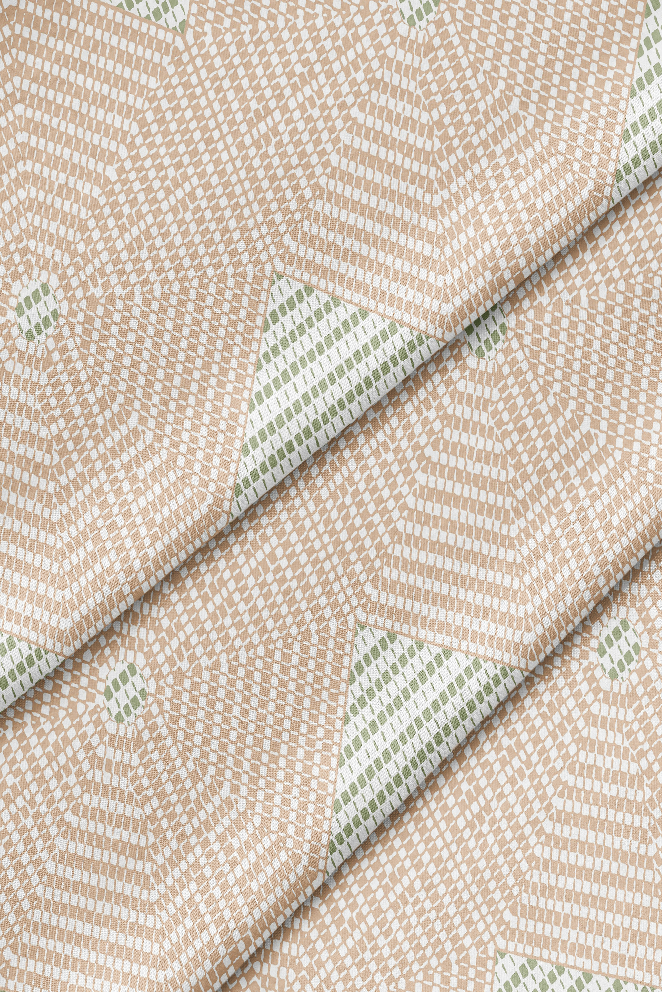 Sade Pink Green Forbes + Masters - Fabric by the Yard