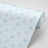 Sailboats - Blue Wallpaper - MB BABY