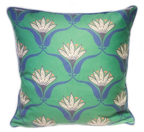 Wallflower Pillow - Jade