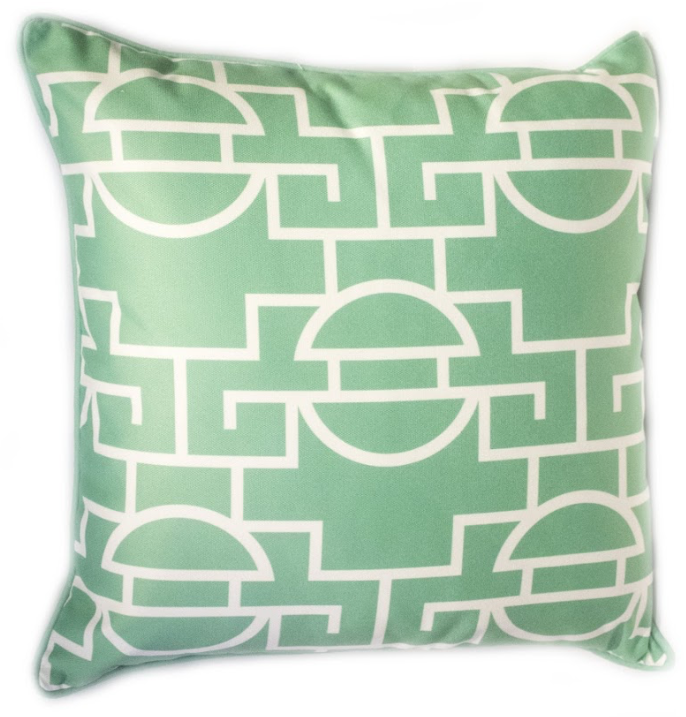 Just Too Graphic Pillow - Leaf