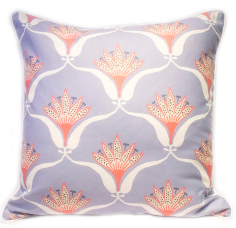 Wallflower Pillow - Lilac
