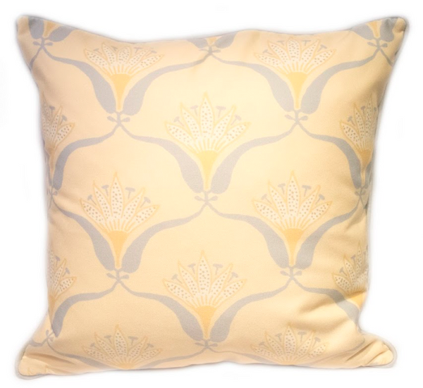Butter Wallflower Pillow