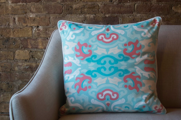 Coral Reef Foo Pillow