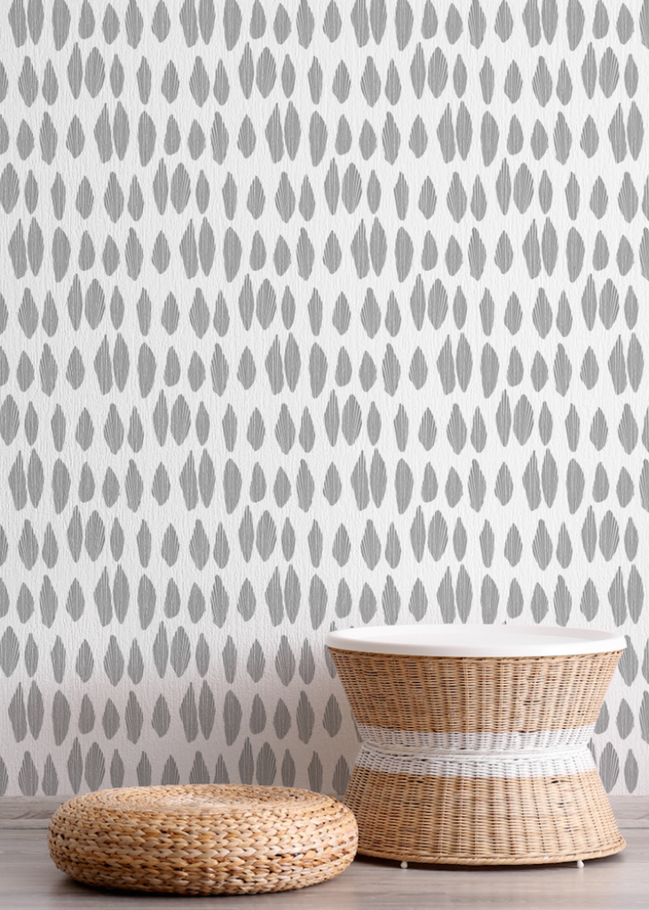 Cascade - Charcoal Wallpaper - JULIANNE TAYLOR STYLE
