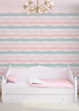 Las Rayas - Blush Wallpaper - The Blush Label