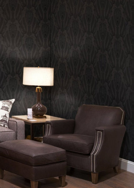 """BULLSMOKE"" REMOVABLE WALLCOVERING"