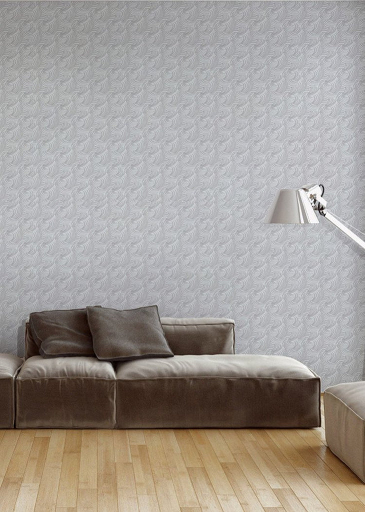 Silk Knot Wallpaper - ABRA Collection