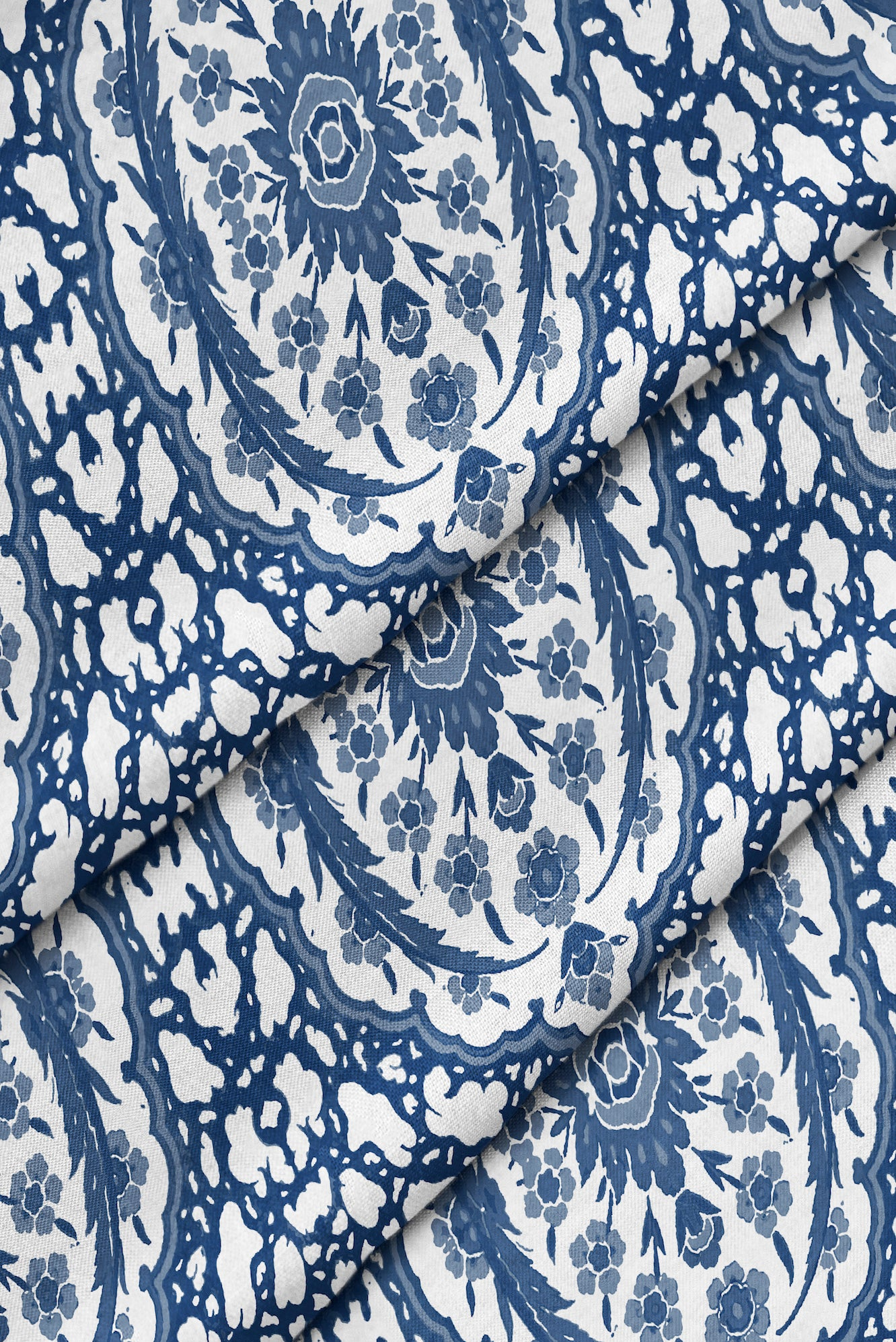 Ottoman Jewel Fabric - Blue