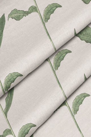 Stalks Fabric - Linen Color