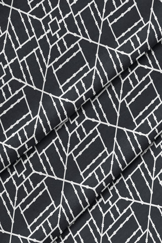Bamboo Fabric - Black