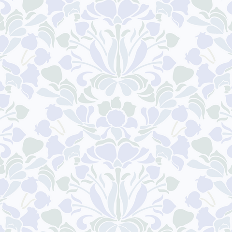 Snapdragon - Pale Lavender Wallpaper - Nomad Collection
