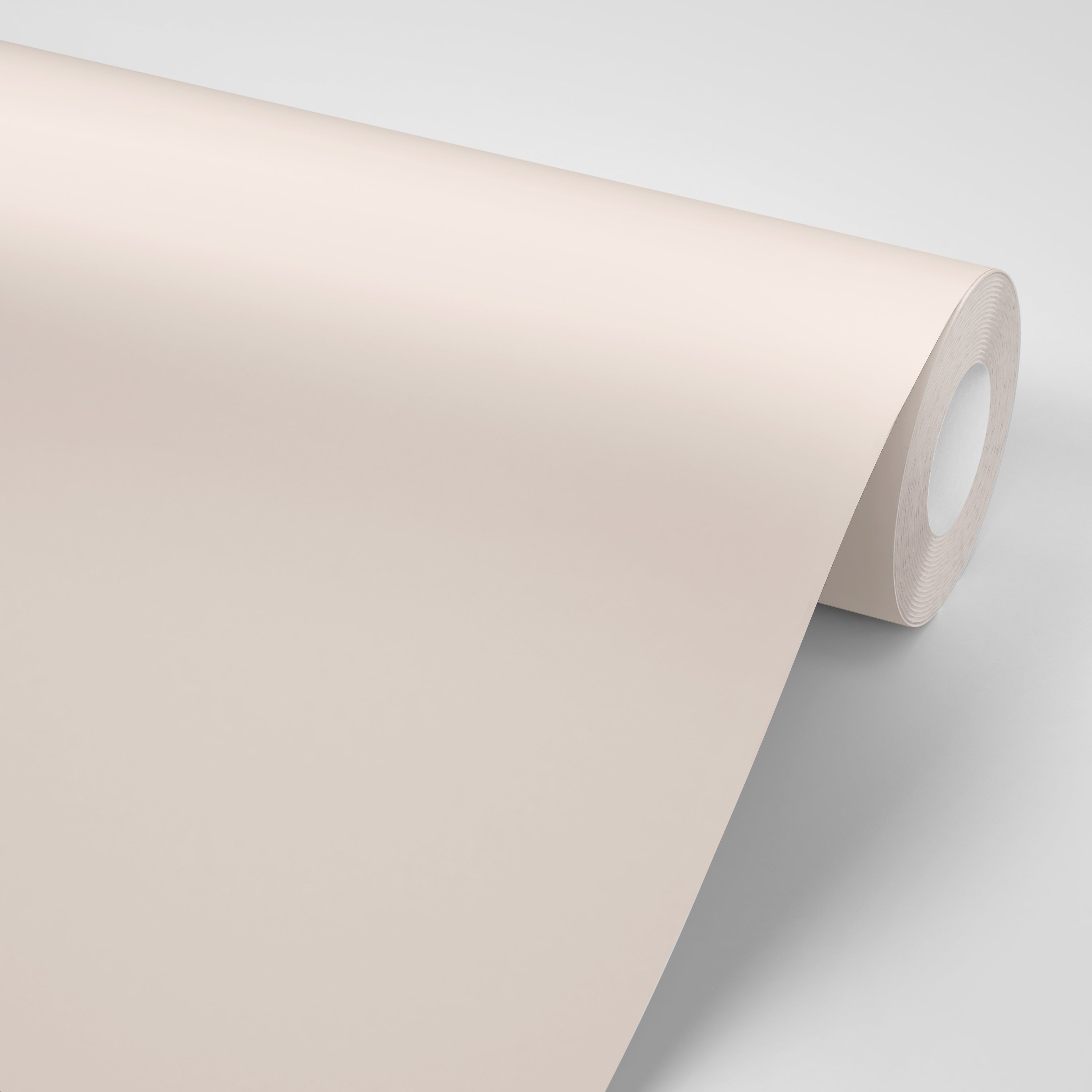 Soft Shell Pink Paint replacement self adhesive colored paper made in USA by Mitchell Black Wallpaper in Chicago