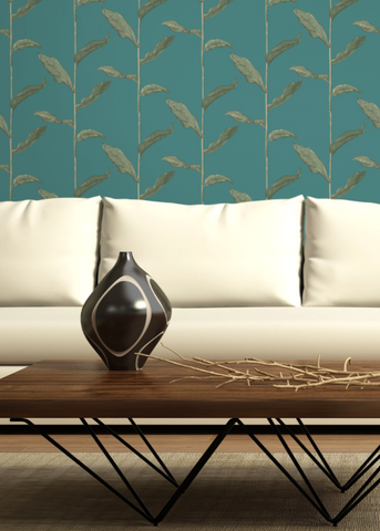 Stalks - Jewel Wallpaper - Nomad Collection