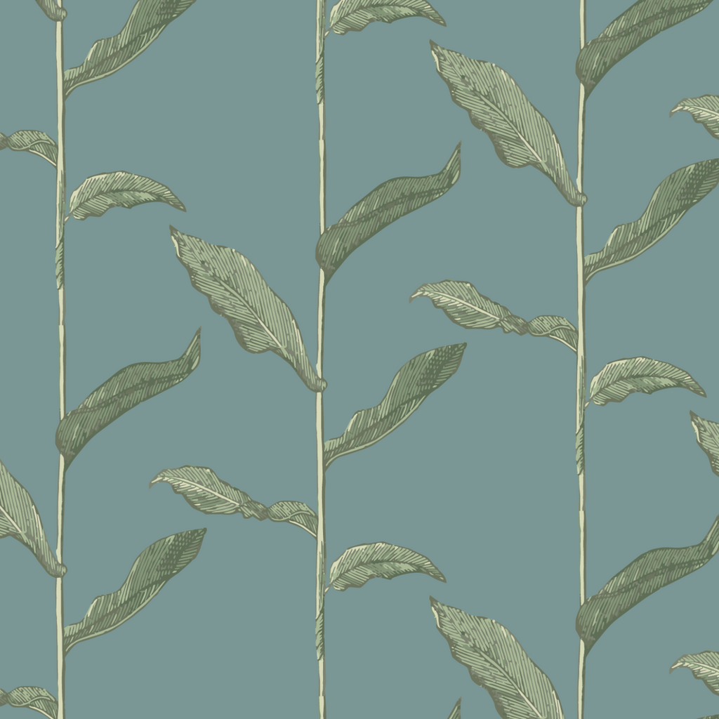 Stalks - Juniper Wallpaper - Nomad Collection