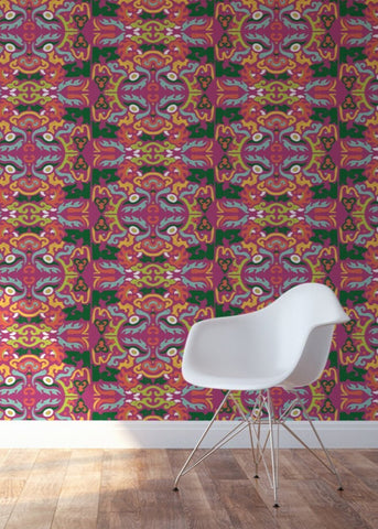 Foo You Looking At - Carnival Wallpaper - JULIANNE TAYLOR STYLE