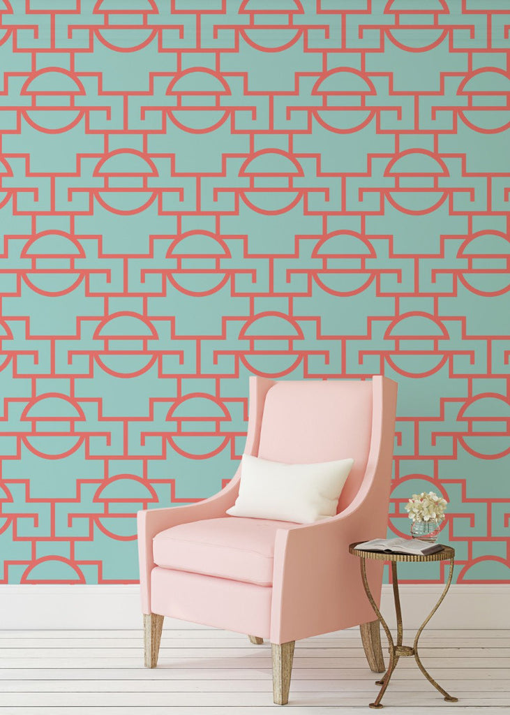 Just Too Graphic - Coral Reef Wallpaper - JULIANNE TAYLOR STYLE