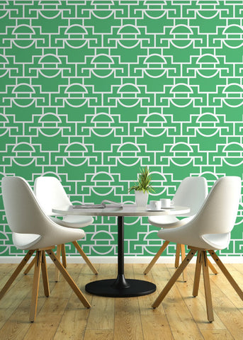 Just Too Graphic - Leaf Wallpaper - JULIANNE TAYLOR STYLE