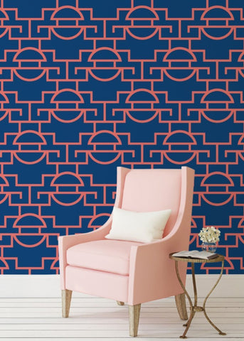 Just Too Graphic - Tropical Wallpaper - JULIANNE TAYLOR STYLE