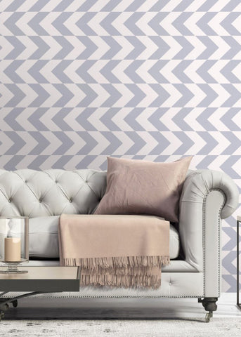 This Way - Lavender Wallpaper - Art in Chaos