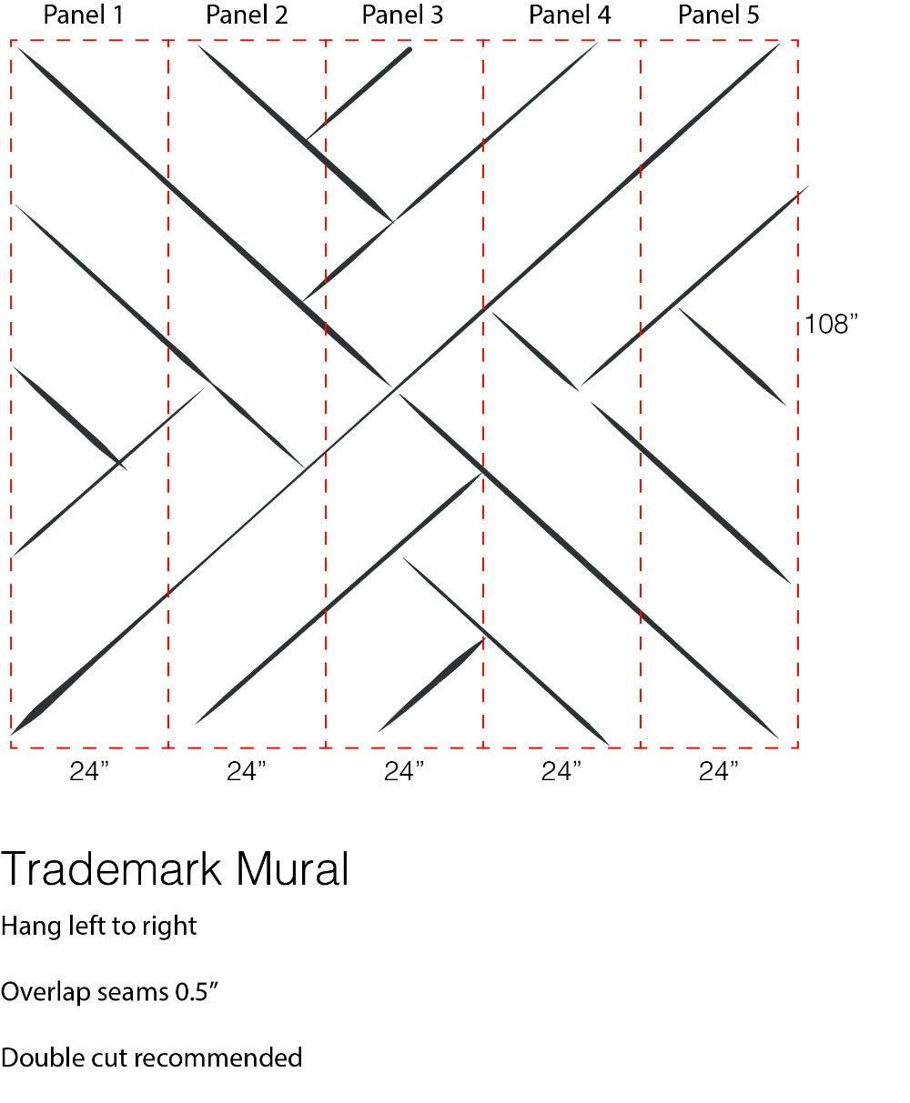 Trademark - The Mural Wallpaper - Mrs Paranjape Papers