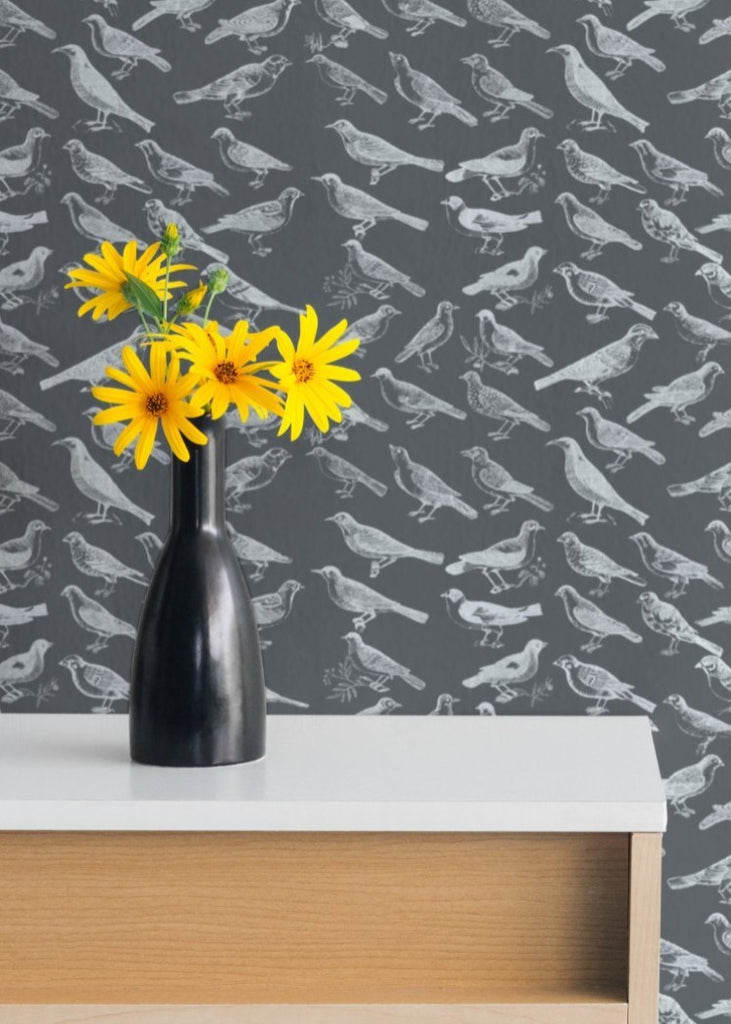 LUCKY Tweeter - Grey Wallpaper - Mitchell Black Signature