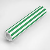 Versa Stripe - Signature Green Wallpaper - Mrs Paranjape Papers