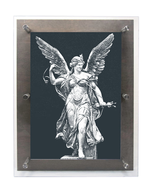 Victory - Wood & Acrylic Frame