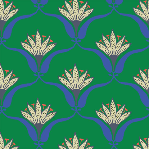 Wallflower - Jade Wallpaper - JULIANNE TAYLOR STYLE