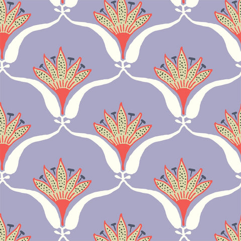 Wallflower - Lilac Wallpaper - JULIANNE TAYLOR STYLE
