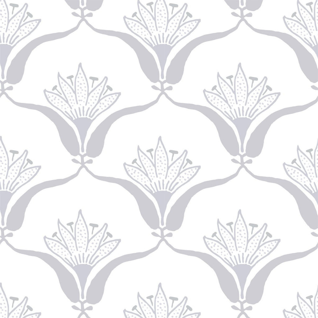 Wallflower - Silver Mist Wallpaper - JULIANNE TAYLOR STYLE