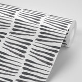 Zebra - Black & White Wallpaper - Nomad Collection