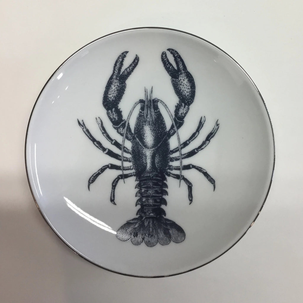 LOBSTER - Decorative Plate - SET of 4