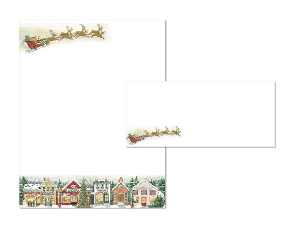 Village Square - Holiday Stationery
