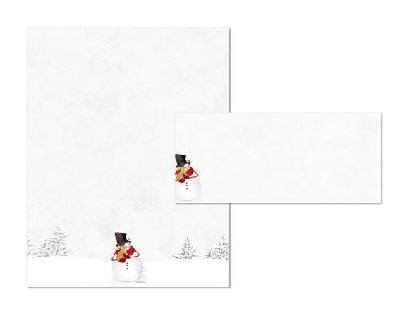 Winter's Whisper - Holiday Stationery
