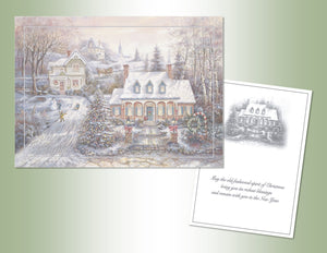 Old Fashioned Christmas - Embossed Foil