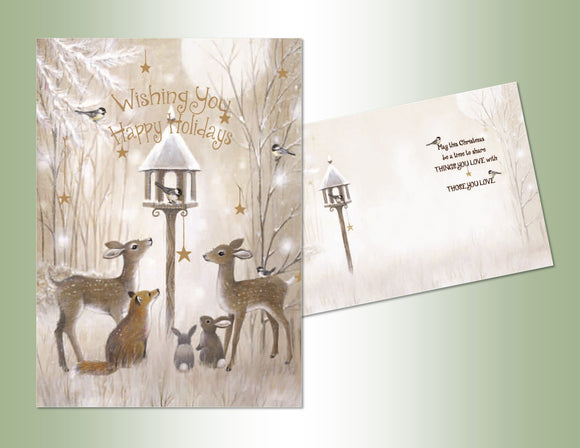Animal Friends - Embossed Foil