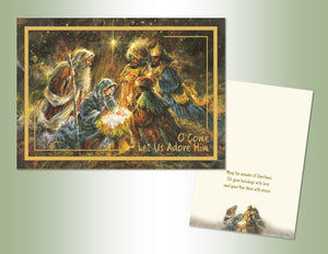 Nativity - Embossed Foil