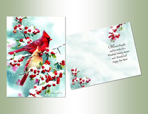 Winter Cardinals - Exceptional Value